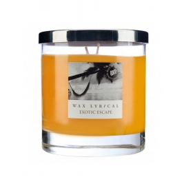 "Fragranced candle  ""Exotic escape"""