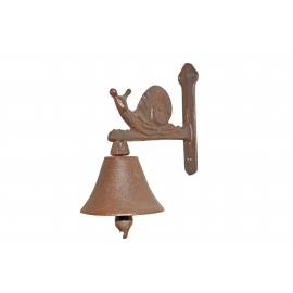 Bell with snail