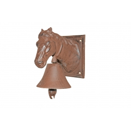 Bell with horse head