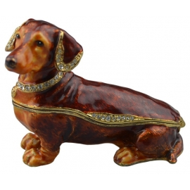 Jewelry box ''Dog''