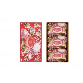 "Soap gift set ""Noble Red"""
