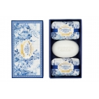 "Soap gift set ""Gold and blue"""