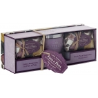 "Candle and soap gift set ""Fig and pear"""