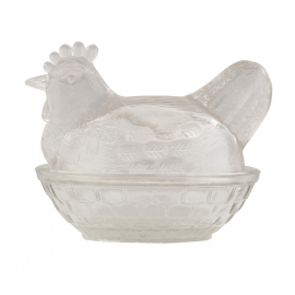 "Glass jar ""Chicken"""