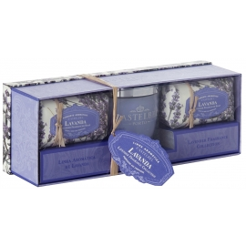 "Candle and soap gift set ""Lavanda"""