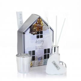 "Home gift set ""Frosted Snow"""