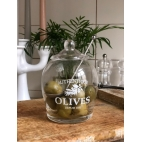 Storage jar for olives
