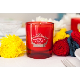 "Fragranced candle  ""Blooming Garden"""