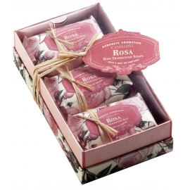 "Soap gift set ""Rose"""