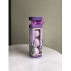 Lavender bath fizzer, set 3