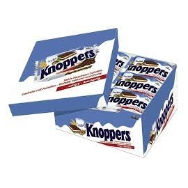 Knoppers waffle cookies 25g 24pcs