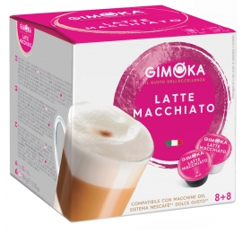 Gimoka Cappucino coffee capsules 16pcs (suitable for Dolce Gusto machine)