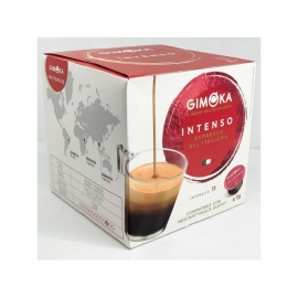 Gimoka Espresso Intenso coffee capsules 8+8pcs (suitable for Dolce Gusto machine)