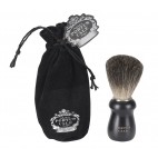 "Shaving brush ""Black edition"""