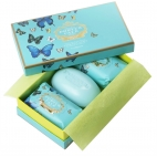 "Soap gift set ""Butterflies"""