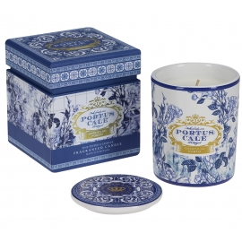 """Fragranced candle  """"Gold and blue"""""""